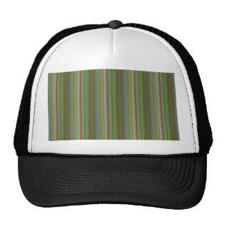 Elegant STRIPES Template DIY add edit TEXT PHOTO Trucker Hats