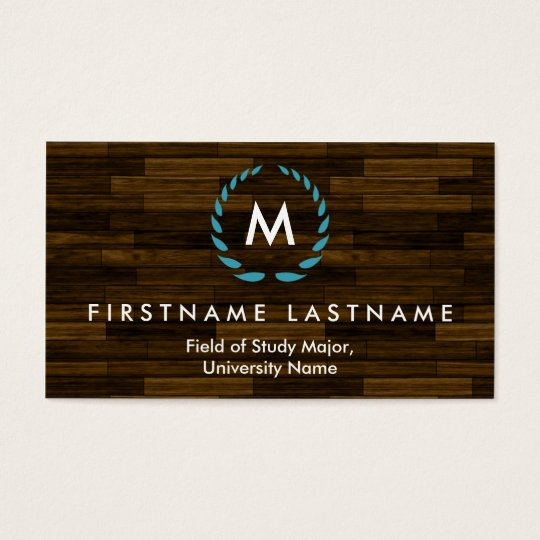 Elegant Student Business Cards