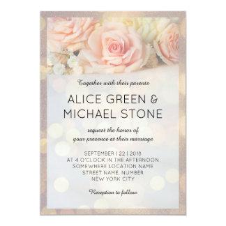 Elegant style beautiful roses card