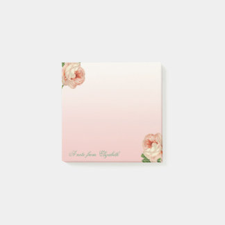 Elegant Stylish Girly , Roses Post-it Notes