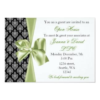 elegant stylish green Corporate Invitation