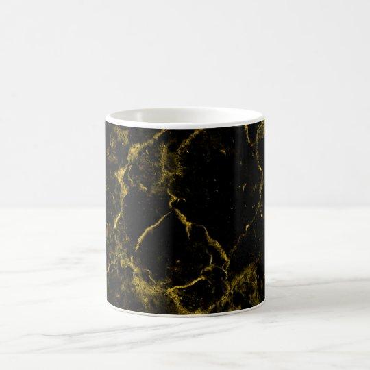 elegant stylish modern chic black and gold marble