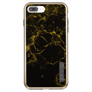 elegant stylish modern chic black and gold marble incipio DualPro shine iPhone 8 plus/7 plus case