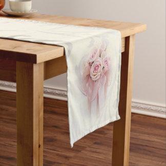 Elegant Stylish Modern,Roses Short Table Runner