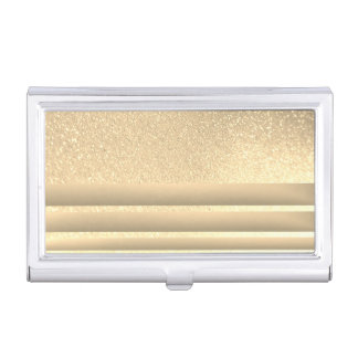 Elegant Stylish Proffesional Glittery Business Card Holder