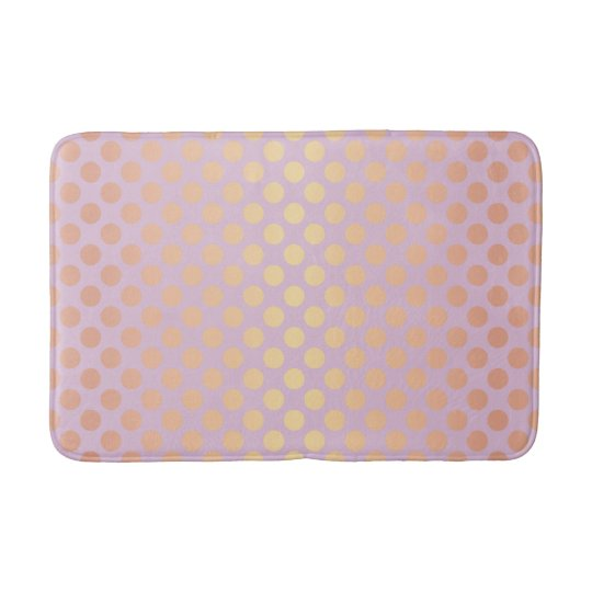 Elegant stylish rose gold polka dots pattern pink