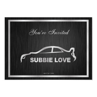 Elegant Subbie Love Invitation