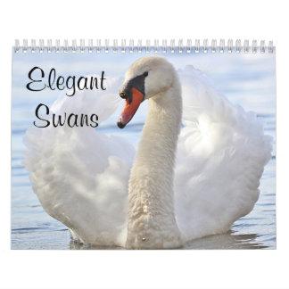 Elegant Swans Wall Calendars
