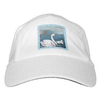 Elegant Swimming White Swan Baby Swan Hat