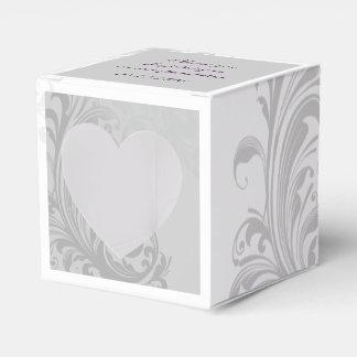 Elegant Swirl Favor/Gift Box Wedding Favour Box