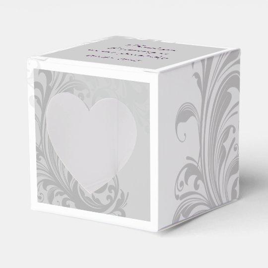 Elegant Swirl Favour/Gift Box