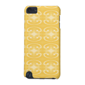 Elegant Swirl Pattern in Golden Yellow Colors. iPod Touch 5G Case