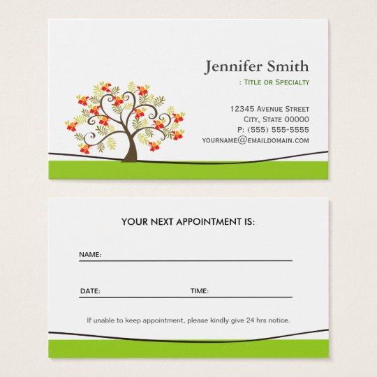 Elegant Swirl Wish Tree Symbol - Appointment Business