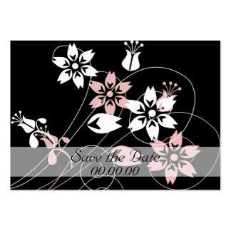 Elegant Swirls and Flowers Business Card