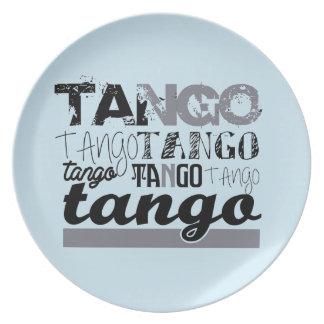 Elegant Tango Plate
