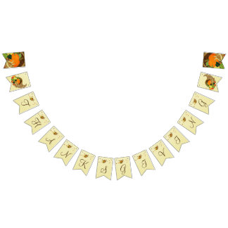 Elegant Thanksgiving Bunting