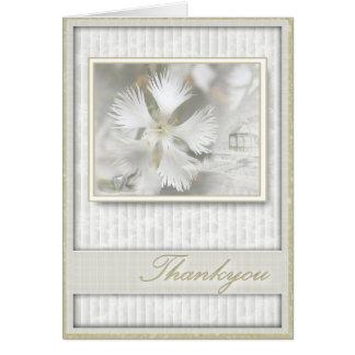 Elegant Thankyou Greeting Card