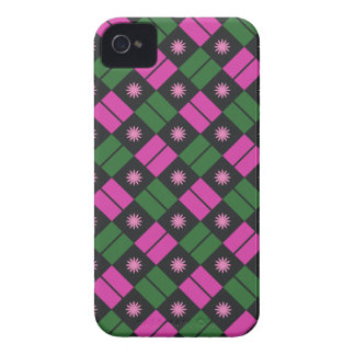Elegant Tile Pattern iPhone 4 Case-Mate Cases