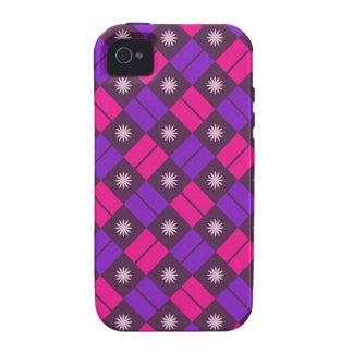 Elegant Tile Pattern Vibe iPhone 4 Cover