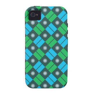 Elegant Tile Pattern iPhone 4 Cases