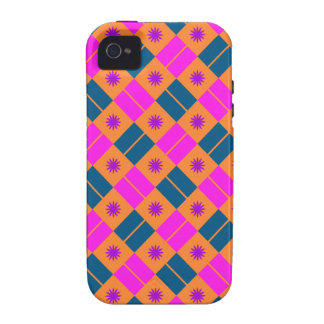 Elegant Tile Pattern iPhone 4/4S Cover