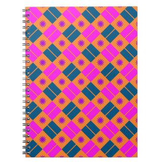 Elegant Tile Pattern Note Books