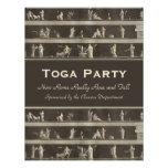 Elegant Toga Party Beautiful Classical Motif Custom Invitations