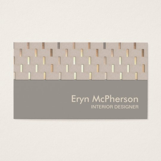 Elegant Tranquillity Zen Modern Business card