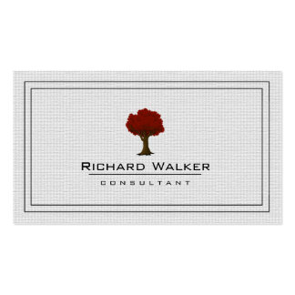 Elegant Tree Garden Lawn Care Logo Landscape Pack Of Standard Business Cards
