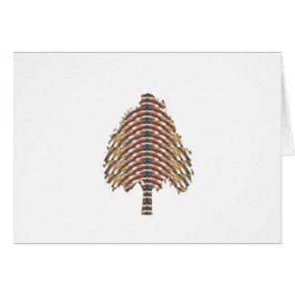 ELEGANT Tree Symbol Metalic Colors LOWPRICE STOR Card