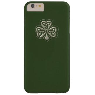 Elegant trendy lucky Irish shamrock Barely There iPhone 6 Plus Case