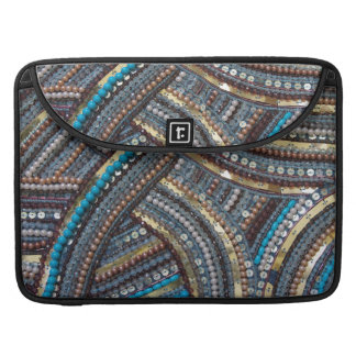 Elegant turquoise sequined sleeve for MacBooks