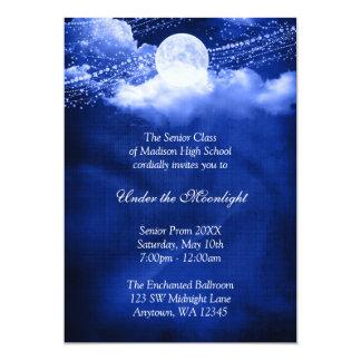 Elegant Under the Moonlight Prom Formal Dance 13 Cm X 18 Cm Invitation Card