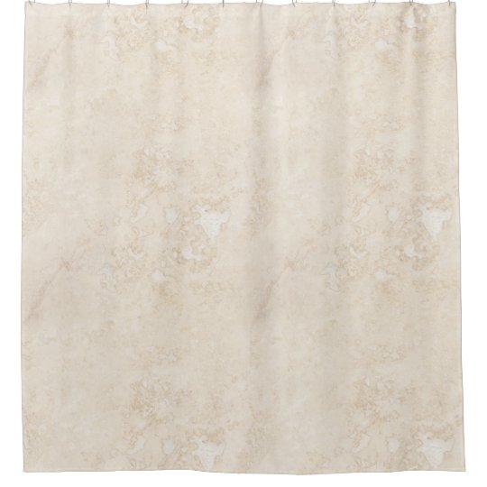 Elegant Upscale Luxe Marble Look Shower Curtain