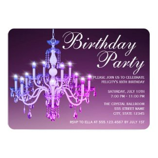 Elegant Venetian Chandelier | Birthday Party