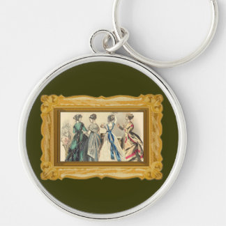 Elegant Victorian Fashions Keychains
