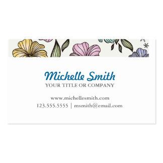 Elegant Victorian Vintage Flowers Business Card