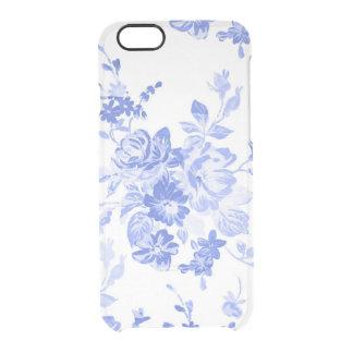 Elegant Vintage Blue Floral iPhone 6 Plus Case