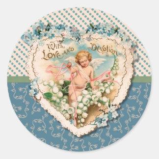 Elegant Vintage Cards, Postage and Stickers