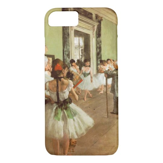 Elegant Vintage Degas The Dance Class, Ballerina iPhone