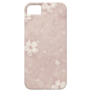 Elegant Vintage Floral Grunge Heart Barely There iPhone 5 Case
