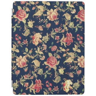 Elegant Vintage Floral Rose iPad Cover