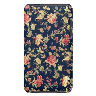 Elegant Vintage Floral Rose iPod Touch Case