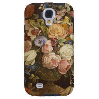 Elegant Vintage Floral Rose Painting Art Case