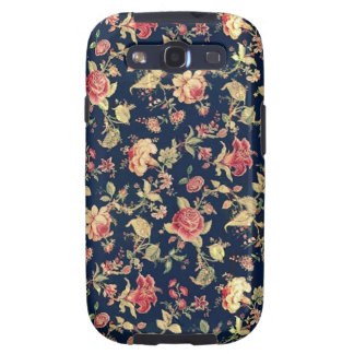 Elegant Vintage Floral Rose Samsung Galaxy Case Samsung Galaxy SIII Case