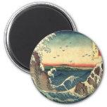 ELegant Vintage Japanese Ocean Tide Magnets