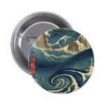 ELegant Vintage Japanese Ocean Tide Pin