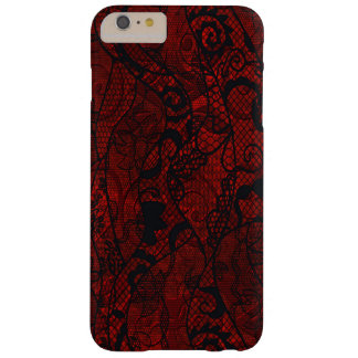 Elegant Vintage Lace Wallpaper Barely There iPhone 6 Plus Case
