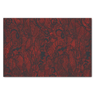 Elegant Vintage Lace Wallpaper Tissue Paper