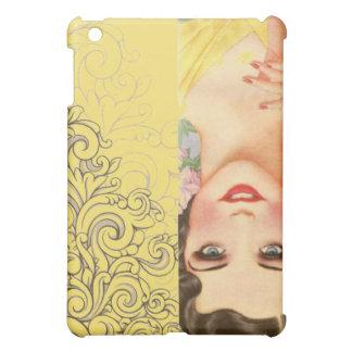 elegant vintage spring fashion paris girl case for the iPad mini